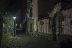 . (Le Cercle Rouge) Tags: paris france streets night lights shadows darkness prints passy 75016