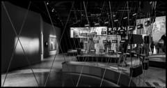 -X-x- (okkyn') Tags: people bw frames closed mood steps passengers pan passing visitors civilisation museeum