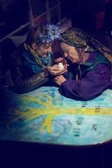 (Zandercommander) Tags: girls portrait spring mood ritual atmospheric pagan norooz oldbus vija flowersinthehair springright
