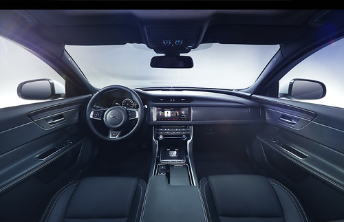 The all-new Jaguar XF