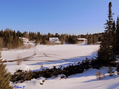 My neighbors (Yolanta Z) Tags: snow laurentians stagathe