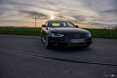 Audi A4 B8 (erwin.banicek) Tags: sunset sun car photography low shooting a4 audi sline worldcars mbdesign cultworks