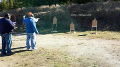 Shot my 1st IDPA classifier today! (Snapshots by Nixy J Morales) Tags: revolver 1911 glock 45auto idpa 45acp lesbaer springfieldxds