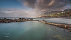 - Emoción - (Mar Diaz -korama-) Tags: españa clouds marina rocks cielo tenerife piscinas rocas islascanarias seaescape filtrosnd d7000 mardíazkorama