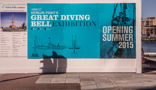 THE 140 YEAR OLD DIVING BELL HAS RETURNED TO BECOME A TOURIST ATTRACTION [SOME OF MY PHOTOGRAPHS WILL BE ON DISPLAY] REF-103799
