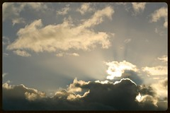 Sunrise (Zelda Wynn) Tags: nature sunrise auckland crepuscularrays troposphere zeldawynnphotography sunriseauckland goldencloudscape
