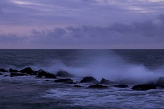 Mar al atardecer (fedelea1962) Tags: sunset sea mar venezuela