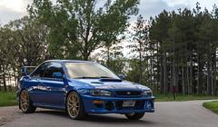 1998 Subaru 2.5RS (brylek6) Tags: blue 25 subaru impreza rs 25rs wrb 22b