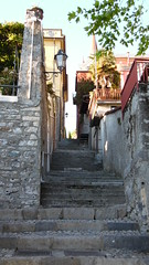 Varenna - Alleyway Steps - Lake Como Italy (Gilli8888) Tags: italy lake stone stairs buildings alley streetlights steps stairway lakecomo lombardia varenna lombardy