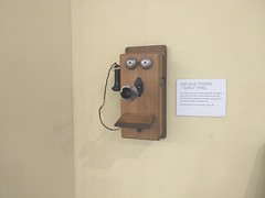 Old style phone (Alex-Boy) Tags: canada dam columbia british hydroelectric bchydro hydroelectricity