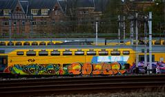 traingraffiti (wojofoto) Tags: holland amsterdam graffiti nederland netherland traingraffiti pozer wolfgangjosten wojofoto treingraffiti