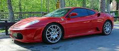2005 Ferrari F430 F1 (crusaderstgeorge) Tags: 2005 red cars cool italian f1 ferrari classiccars sportscar f430 supercars prancinghorse redcars carmeet lvkarleby 2005ferrarif430f1 crusaderstgeorge