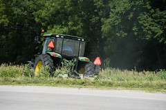 D6060_CM-72 (MoDOT Photos) Tags: green rural heavyequipment colecounty mowers centraldistrict modot safetygear bycathymorrison d6060