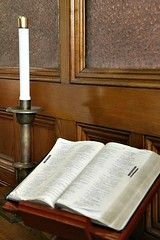 GOOD BOOK (MIKECNY) Tags: church book candle religion bible methodist scripture mechanicville