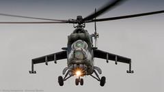 Czech Air Force Mi-35 Hind head on (Nicky Boogaard Photography) Tags: 2 mi stars casa martin f16 airbus boeing 29 douglas lockheed 35 hind turkish a330 flares mil mig md11 sentry awacs f35 e4 ch47 antonov mcdonnel nf5