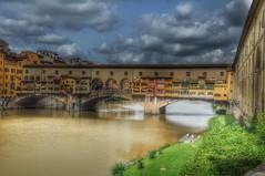 Ponte Vecchio bridge over river Arno, Florence, Italy. (Keo6) Tags: