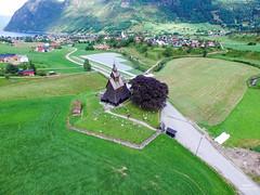 Hopperstad Stavkirke (dronepilotene) Tags: norway no vik stavkirke sognogfjordane hopperstad