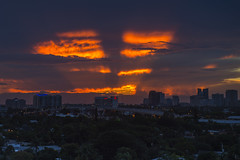 Sunset (robertjamesstarling) Tags: sunset fort lauderdale crepuscular rays clouds golden hour sun
