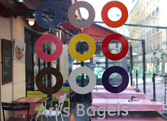 Ari's Bagels (Rick & Bart) Tags: city urban paris france colour canon circle rickbart rickvink eos70d arisbagles