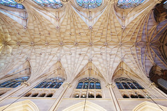 St. Patrick's Cathedral (jacklynchan) Tags: travel newyork church architecture canon pattern arch cathedral manhattan arches ceiling midtown dslr neogothic