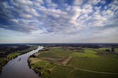 Ship going upstream (Frank van Eck) Tags: yuneecq5004k maas wellerlooi drone