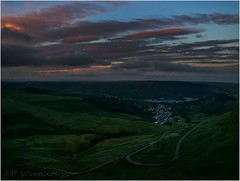 Sunset over Cwmparc, Rhondda Valleys.... (emma.woodhouse133) Tags: sunset wales clouds landscape landscapes cloudscape valleys rhondda