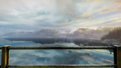 VOEC - 035 (Screenshotgraphy) Tags: sunset sky mountain lake game nature colors architecture clouds contrast montagne landscape pc screenshot lumire couleurs country lac ethan steam gaming ciel beaut carter concept nuages paysage vanishing campagne beautifull jeu naturelle urbain