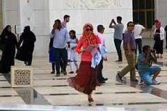 ABU-DHABI: Potpourri outside the Sheikh Zayed Grand Mosque (filippo.bonizzoni) Tags: abudhabi mosque emirati emirates moschea boanco white photography photographyreportageadvertisementexpo reportage streetphotography strada street