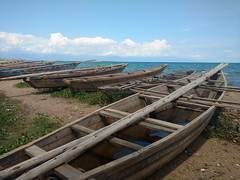 Fishing boats along Lake Tanganyika (Ross_2112) Tags: congo africa uvira southkivu laketanganyika