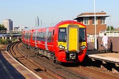 387224 Clapham Junction 18.07.16 (jonf45 - 2.5 million views-Thank you) Tags: electric dc br rail trains junction class multiple emu british express railways clapham 3rd gatwick unit 387 3872 387224