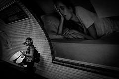 Froissart (Solylock) Tags: 2016 paris streetphotography photoderue noiretblanc blackandwhite nb bw monochrome monochrom metropolitan metro affiche aeroport airport cdg roissy bus voitures cars escaliers stairs rflexion reflection ombre chinoise banc public fatigue marinire patissier sortie froissart propret bep