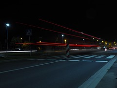 P7290070 (jakubste) Tags: krakow cracow city night traffic