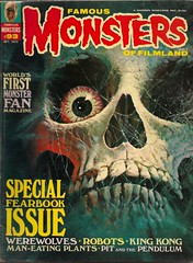 Famous Monsters No. 93 (Warren Oct 1972) (Donald Deveau) Tags: magazine skull warren monsters forrestjackerman famousmonsters