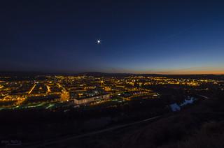 Sunset from La Rioja