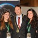 Showtel Jean Brophy & Cassandra White, Siteminder and Stephen McNally, IHF President