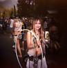 Shamb 2014: Hooper Girl (christait) Tags: portrait music girl festival hoop holga pretty bc farm nelson hooper shambhala 2014 120cfn kodakportra160