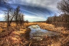 Jidana Park (Mercenaryhawk) Tags: cold minnesota creek canon landscape eos spring frost angle mark iii wide 5d mn hdr minnetonka minnehaha photomatix bracketed 19mmm