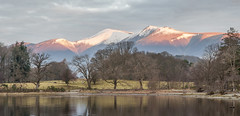 Morning light on Skiddaw from Derwant Water Panoramic (mrktulip) Tags: mountains landscape nikon lakes lakedistrict cumbria d90 derwantwater leendgrads