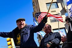 2015 Greek Independence Day Parade, Fifth Ave, Manhattan, NY ~ April 29th, 2015 (Albin Lohr-Jones) Tags: nyc history sign community flag band parade greece politician float independence immigrant