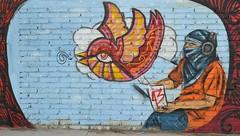 Ayotzinapa Mural Tlacolula Oaxaca Mexico (Ilhuicamina) Tags: art birds mexico murals oaxaca walls protests 43 tlacolula ayotzinapa