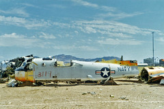 S-2A Tracker BuNo 133119 (skyhawkpc) Tags: aircraft aviation navy 1967 naval usnavy chinalake tracker usn grumman s2a arear 133119 stevegrivno