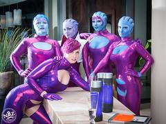 DSC_0687 (N8Zim) Tags: cosplay seatte asari masseffect azures afterlifeclub eccc2015