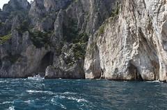 Sea Caves (Boganeer) Tags: italy canon capri italia limestone tyrrheniansea seacaves canont3i