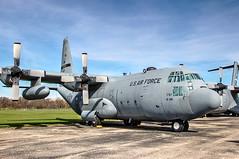 Lockheed US Air Force C-130E Hercules (robtm2010) Tags: ohio usa museum canon war aircraft military airplanes lockheed usaf hercules dayton usairforce t3i cargoplane c130e nationalmuseumoftheunitedstatesairforce