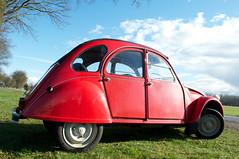 rouge vallelunga (Jesper2cv) Tags: red rot french rouge citron voiture 2cv ente rood franais eend deuche tinsnail