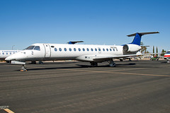 N372SK Chautauqua Airlines ERJ-135 (Centreline Photography) Tags: arizona plane canon airplane airport desert aircraft aviation airplanes flight aeroplane planes chrishall flughafen runway boneyard spotting airliner airliners embraer kingman chautauqua planespotting flug spotters erj regionaljet igm erj135 chautauquaairlines eos400d n372sk ejet kigm aircraftstorage centrelinephotography