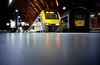 Antwerpen Centraal (GTZ*) Tags: eye film train lca lomography rat belgium iso400 lomolca groundlevel antwerp lowdown antwerpen kodakportra400 ratseyeview chinscraper