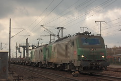 BB 27062 + BB 27025 / Hazebrouck (jObiwannn) Tags: train locomotive prima fret