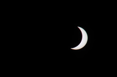 Total solar eclipse (partial phase) - Svalbard, March 20th 2015 (JSS-N) Tags: sun moon nature svalbard arctic thesun solareclipse totalsolareclipse totaleclipse solformørkelse