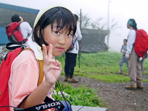Little Girl in Mt. Ibuki : 伊吹山にて